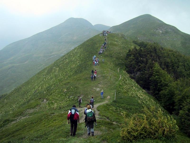 Il Trekking in Toscana è