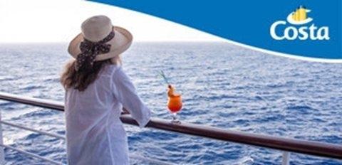 Costa Crociere promo Primavera Più: prenoti e ti regaliamo le bevande Offerte