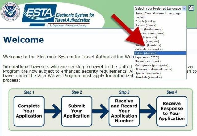 Dal 1 Aprile nuove procedure per il visto negli USA Destinazioni