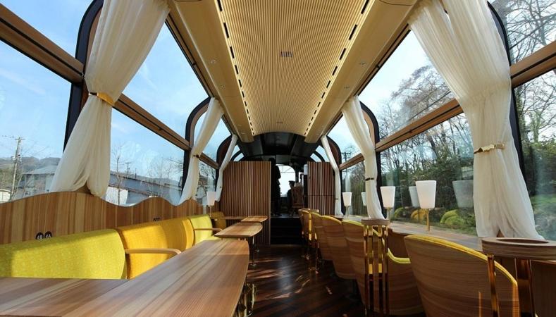 Il treno del futuro? trasparente! Trip Styles