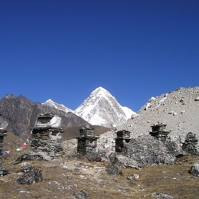 Campo base Everest e valle di Gokyo Montagna
