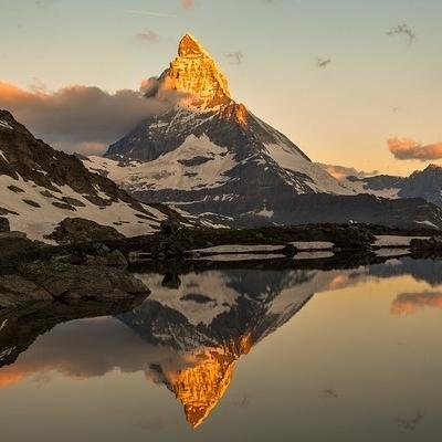 Val d'Aosta:tra i laghi alpini del Cervino e del Monte Bianco
