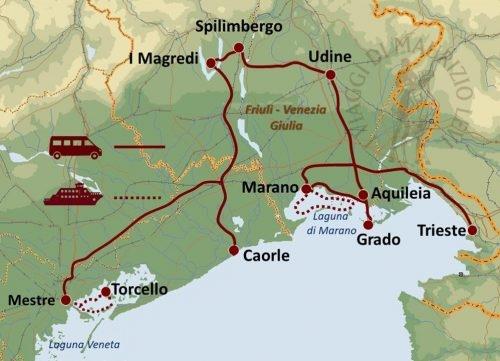 Venezia e Friuli, Scorci nascosti nel Nordest Tour Culturali