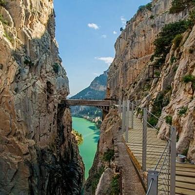 Caminito del Rey e Parchi Andalusi Trekking