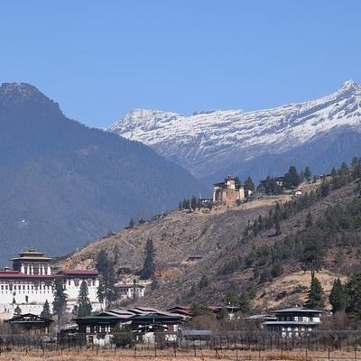 Bhutan in mountain bike