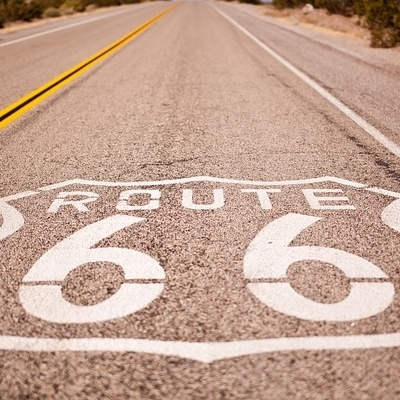 Route 66 self drive in moto Fly & Drive: Moto