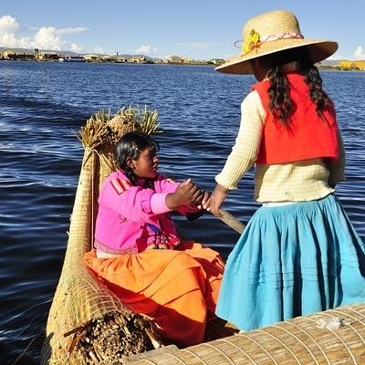 Gente e colori delle Ande