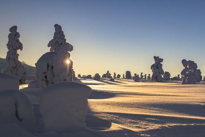 Avventura invernale con le ciaspole Montagna