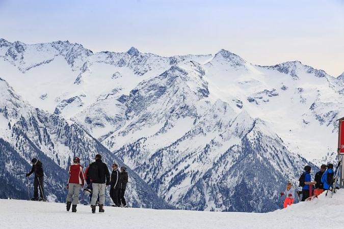 Ski a La Plagne