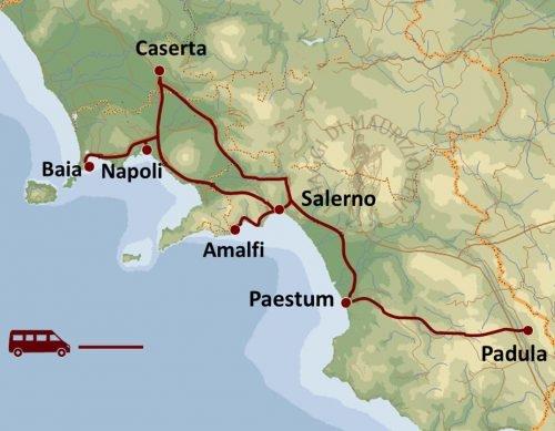 Navigazione e Antichi Borghi del Cilento