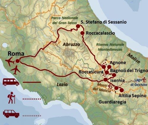 Abruzzo e Molise Avventura lungo il Tratturo Magno Tour Culturali