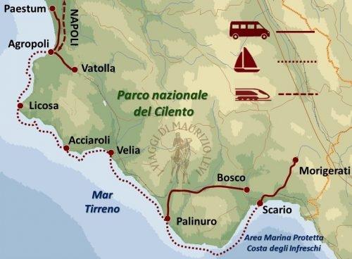 Campania, Vela e Archeologia