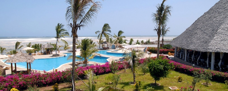 Twiga Beach Resort 4* Mare