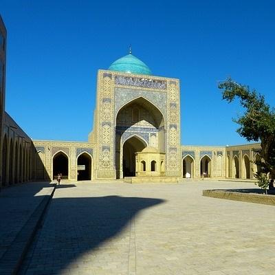Nel cuore dell'Asia Centrale